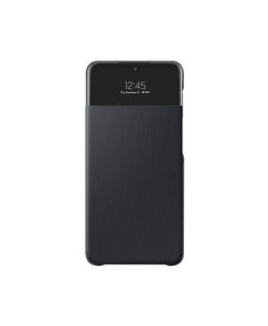 Puzdro Samsung EF-EA326PBE na Samsung Galaxy A32 5G S-View čierne