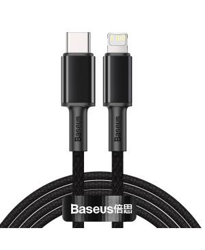 Dátový kábel High Density PD USB-C - Lightning 2,0 m 20W čierny