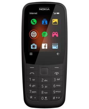 Nokia 220 4G, Dual SIM, Black - SK distribúcia