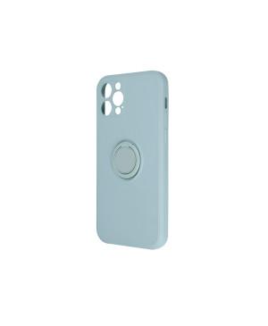Silikónové puzdro na Xiaomi Mi 11 Lite/Mi 11 Lite 5G Finger Grip zelené