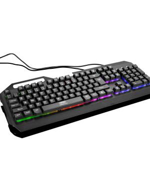 Klávesnica XO KB-01 RGB čierna