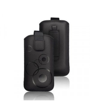 Univerzálne puzdro Forcell Deko pre Apple iPhone 6/6s Plus čierne