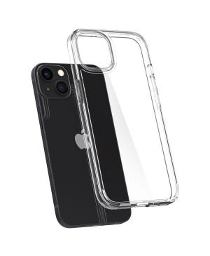 Odolné puzdro na Apple iPhone 13 mini Spigen Ultra Hybrid transparentné