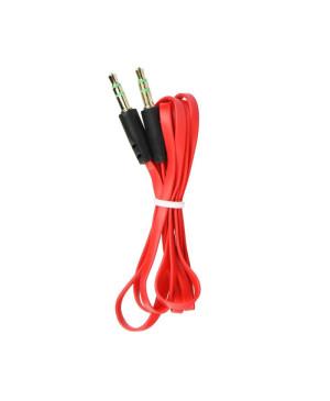 Kábel AUX 3,5mm Jack 1m červený