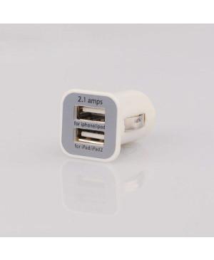 Auto nabíjačka s dvoma USB portami 2.1A
