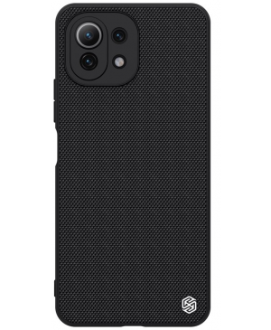Plastové puzdro na Xiaomi Mi 11 Lite/Mi 11 Lite 5G Nillkin Textured Hard čierne