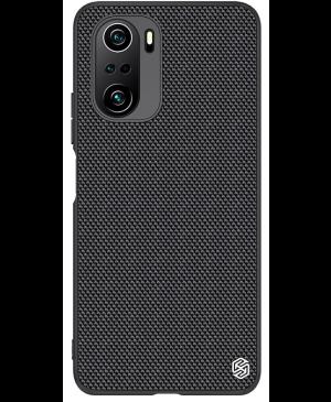 Plastové puzdro na Xiaomi Poco F3 5G Nillkin Textured Hard čierne