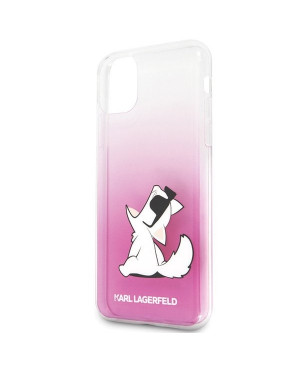 Karl Lagerfeld KLHCN61CFNRCPI Choupette Fun pre Apple iPhone 11 pink