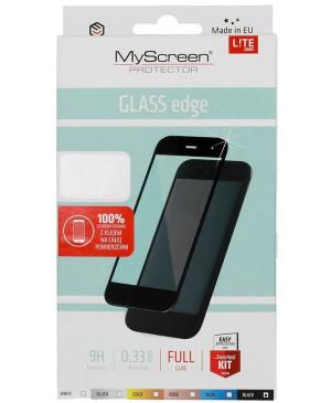 Tvrdené sklo na Motorola Moto G8 Power Lite My Screen celotvárové čierne