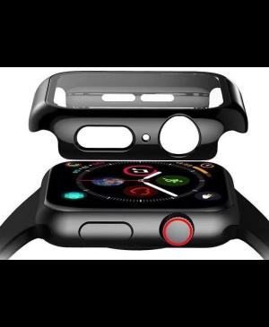 Tvrdené sklo 3D Frame na Apple Watch 44 mm s čiernym rámom