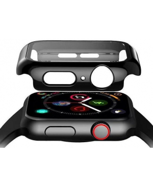 Tvrdené sklo 3D Frame na Apple Watch 40 mm s čiernym rámom