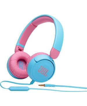 Slúchadlá JBL JR310 modrá/ružová