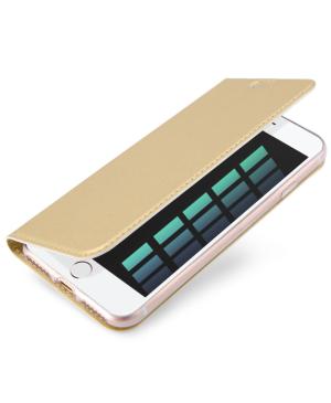 Diárové puzdro na Xiaomi Mi 11 Lite/Mi 11 Lite 5G Dux Ducis Skin Pro zlaté