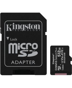 Pamäťová karta Kingston Canvas Select Plus 512 GB microSDHC + adaptér