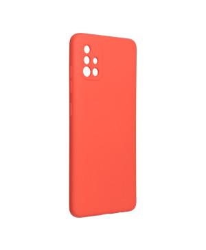 Silikónové puzdro na Samsung Galaxy A51 Forcell Silicone Lite ružové