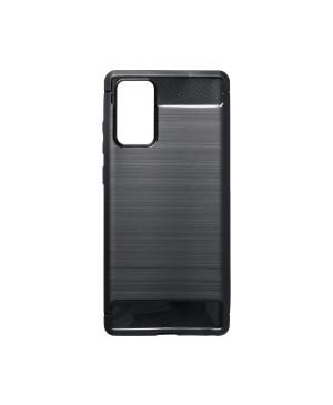Silikónové puzdro pre Samsung Galaxy Note 20 N980 Carbon Lux TPU čierne