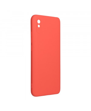 Silikónové puzdro na Xiaomi Redmi 9A/9AT/9i Forcell Silicone Lite ružové