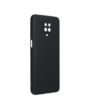 Silikónové puzdro na Xiaomi Redmi Note 9S/9 Pro/9 Pro Max Forcell Silicone Lite čierne