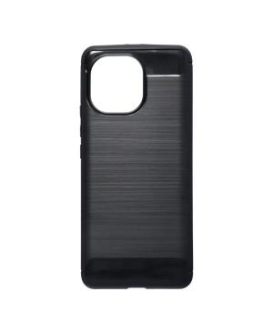 Silikónové puzdro na Xiaomi Mi 11 Lite/Mi 11 Lite 5G Forcell Carbon čierne