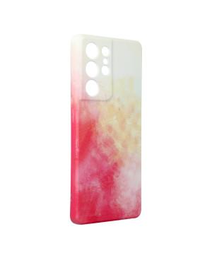 Silikónové puzdro na Samsung Galaxy S21 Ultra 5G Forcell POP viacfarebné