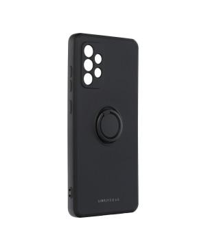 Silikónové puzdro na Samsung Galaxy A32 Roar Amber čierne