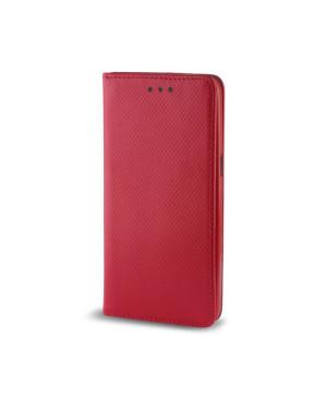 Diarové puzdro Smart Magnet pre Samsung Galaxy A8 2018 červené