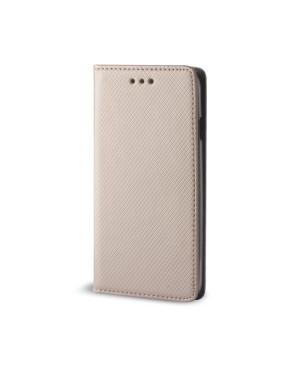 Diárové puzdro Smart Magnet pre Samsung Galaxy J5 zlaté