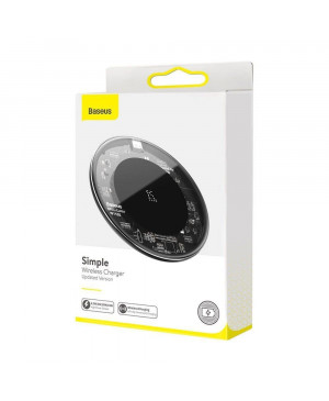 Bezdrôtová nabíjačka Baseus Simple 15W