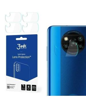 Ochranné sklo na fotoaparát Xiaomi Poco X3 3MK Flexible (4ks)