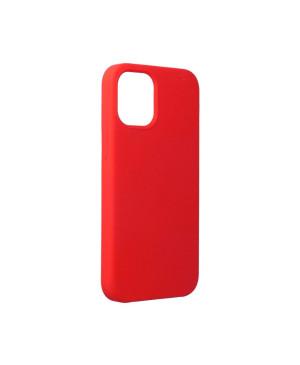 Silikónové puzdro Forcell Silicone pre iPhone 12 mini červené
