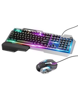 Herný set HOCO klávesnica + myš RGB GM12 čierny