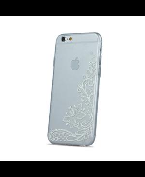 Silikónové puzdro Ultra Trendy Henna pre Apple iPhone 6/6s transparentné 03