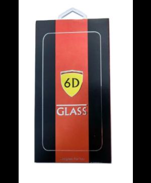 Sklo 6D 9H na Motorola Moto G6 Play celotvárové (full glue) čierne