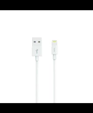 USB kábel MFI Madsen Lene 300 pre Apple iPhone biely