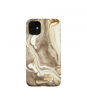 Plastové puzdro na Apple iPhone 11/XR iDeal of Sweden Golden Sand Marble