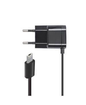 Sieťová nabíjačka micro USB nabíjačka 1A čierna