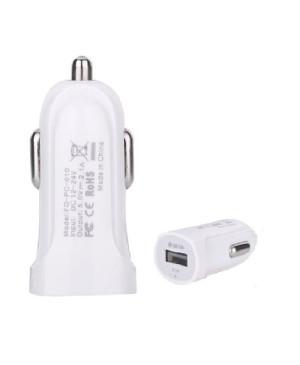 Auto nabíjačka DEVIA Smart Charger USB biela