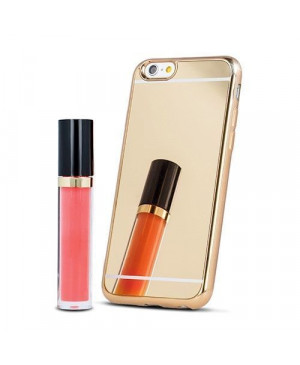 Plastové puzdro Mirror TPU pre Apple iPhone 7/8 zlaté