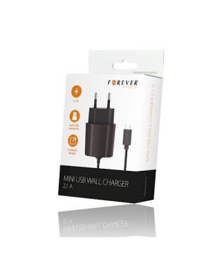 Sieťová nabíjačka mini USB 2.1A