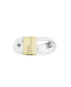 USB kábel - micro USB biely