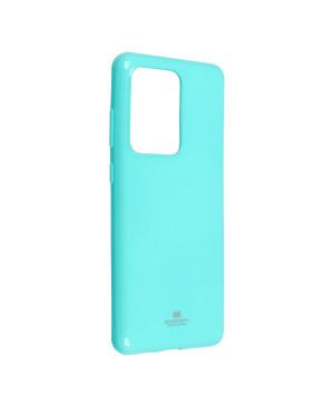 Silikónové puzdro Mercury Jelly pre iPhone 12 Mini mentolové