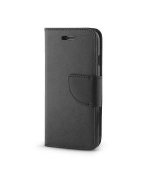 Diarové puzdro Smart Fancy pre Samsung A8 2018 čierne