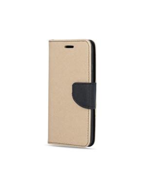 Diárové puzdro Smart Fancy pre Samsung Galaxy A10 zlato čierne