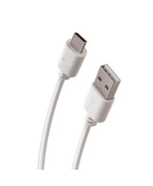Kábel USB typ-C Forever biely