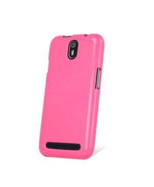 Silikónové puzdro myPhone Fun 5 ružové