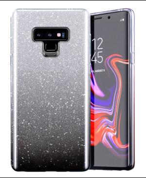 Silikónové puzdro na Samsung Galaxy S21 FE 5G Shine Bling čierne