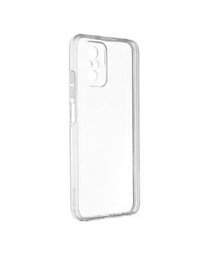 Silikónové puzdro na Xiaomi Mi 11 Lite/Lite 5G 360 Full Cover transparentné