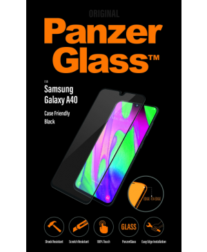 PanzerGlass pre Samsung Galaxy A40 čierne