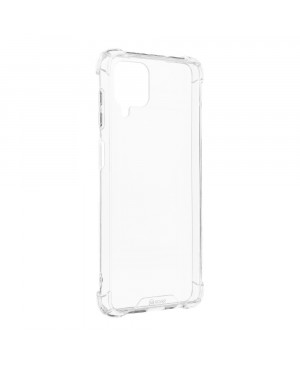 Odolné puzdro na Samsung Galaxy A12 Armor Jelly Roar transparentné