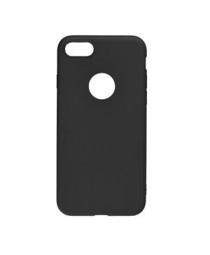 Silikónové puzdro na Apple iPhone 12/12 Pro Forcell SOFT čierne